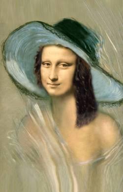 Mona con Sombrero