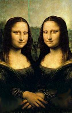 Mona dance with....Mona??
