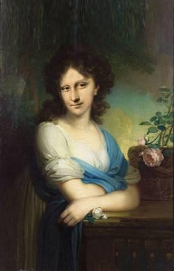 Mona en Azul Celeste