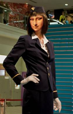Mona Flight Attendant