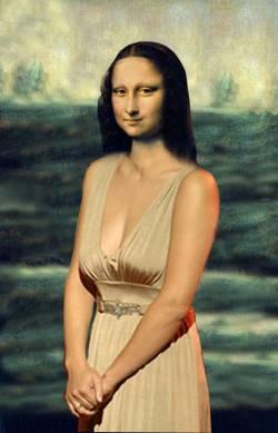 Mona got up