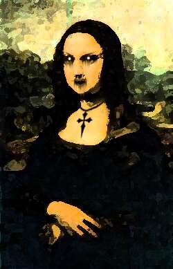 Mona Gothic Lisa