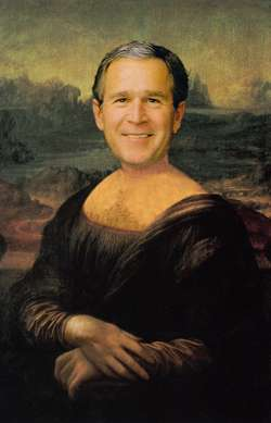 Mona has found a new job. So did George W.