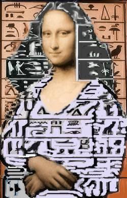 mona hierogliphes