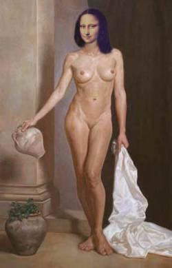 Mona Holding Jug