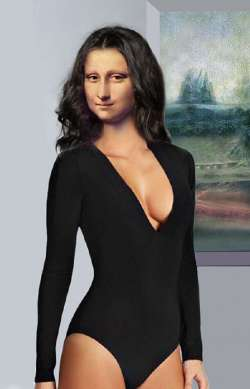 Mona in Black Body