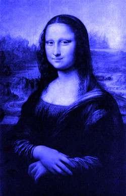 Mona in delftsblauw