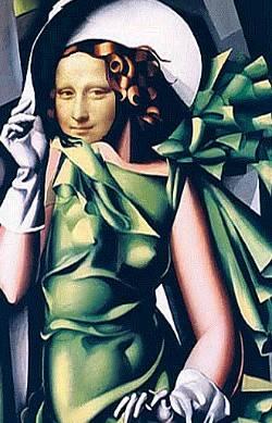 Mona in green dress