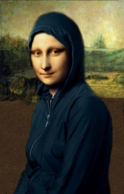 Mona in Hooded Coat