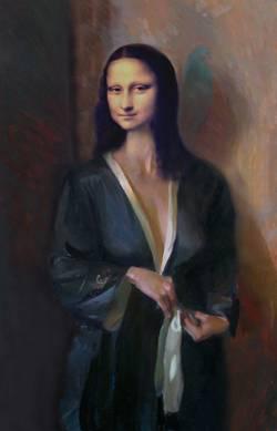 Mona in Kimono