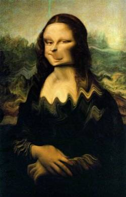 Mona in motion