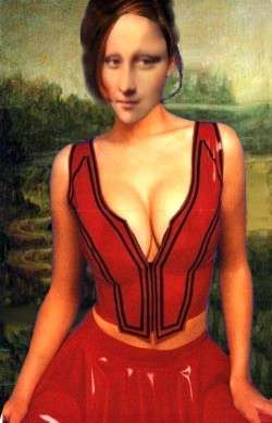 MONA in red Bolro