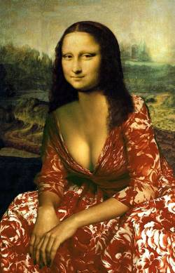 Mona in Red Dress
