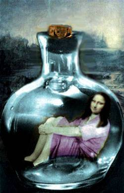 mona in the bottle