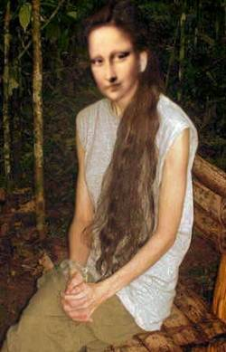 Mona in the jungle