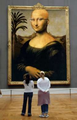 Mona in the modern museum