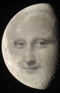 Mona in the Moon