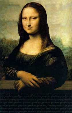 Mona in the wal