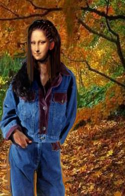 mona in the woods
