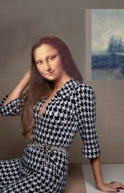 Mona in Tweed