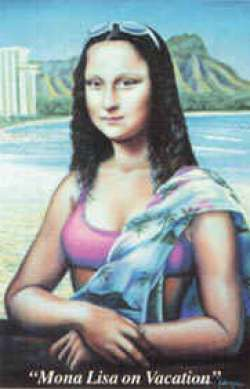 mona in vacation