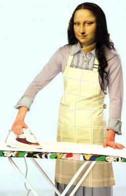 mona ironing