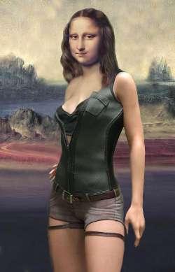 Mona Leather Body
