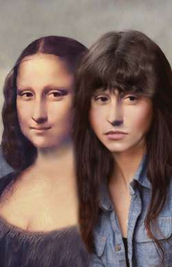 Mona Lisa and Daughter
