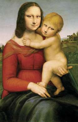 Mona Lisa and her child