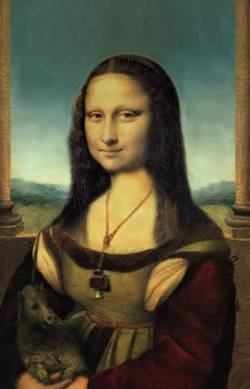 Mona Lisa at Home