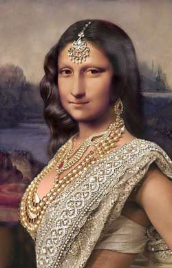 Mona Lisa back from India