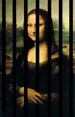 Mona Lisa Behind Bars