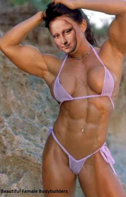 Mona Lisa body builder fail