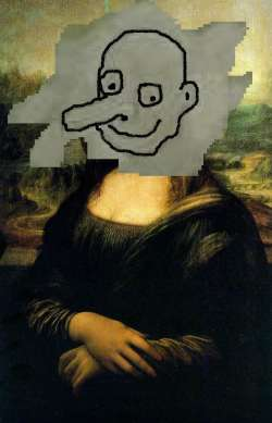Mona Lisa by Mr. Bean