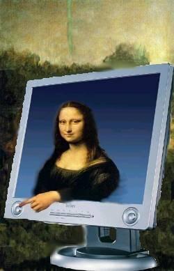 Mona Lisa computer