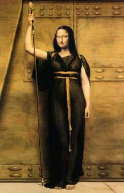Mona Lisa con Lancia