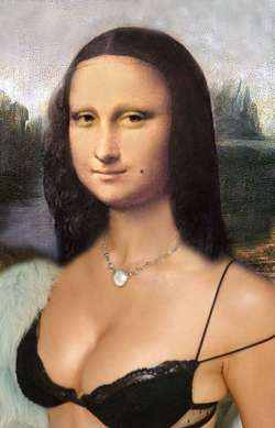 Mona Lisa con Voglia