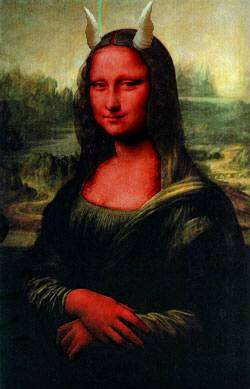 mona lisa demon