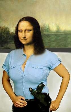 Mona Lisa Donna Poliziotto