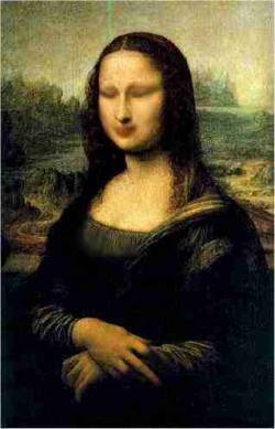 Mona Lisa dreaming
