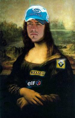 Mona Lisa Fernando Alonso