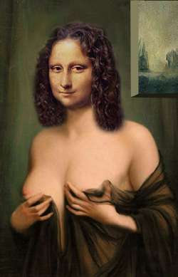 Mona Lisa in Honey Moon