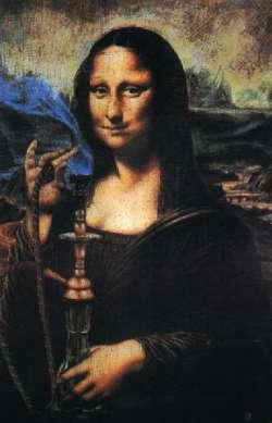 Mona Lisa in Istanbul
