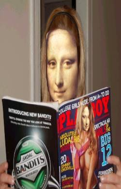 Mona Lisa in playboy