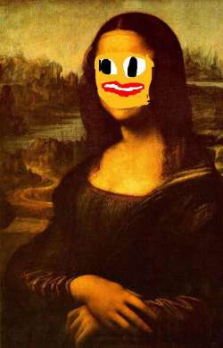 Mona Lisa in Someone Else's Life