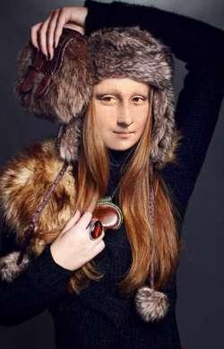 Mona Lisa in winter