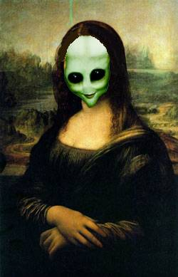Mona Lisa in year 2150