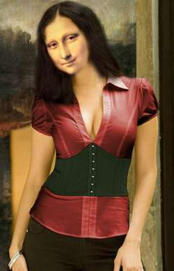 Mona Lisa Indossatrice