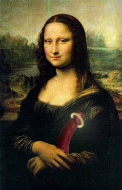 Mona Lisa is playing