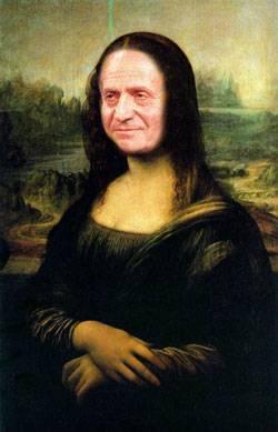 Mona Lisa Juan Carlos Rey España
